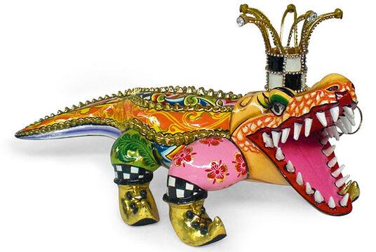 "Thomas Hoffmann / Tom's Drag: Alligator ""Francesco"""