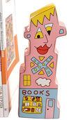 "Buchstütze ""Books to my Right"", Porzellan"
