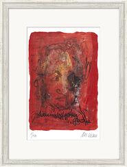 "Bild ""Johann Wolfgang von Goethe"" (2014), gerahmt"