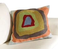 "Cushion cover ""Color Study Quadrate - Light Blue"" (1913)"