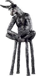 "Skulptur ""Minotaurus"", Bronze"