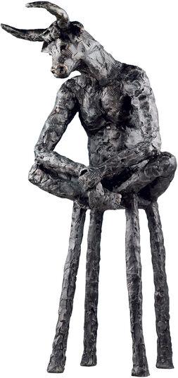 "Miriam Monchen: Skulptur ""Minotaurus"", Bronze"