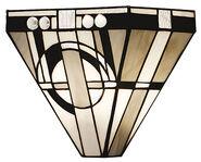 "Art Nouveau-Wandleuchte ""Metropolitan"""