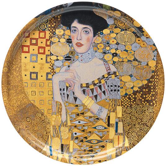"""Gustav Klimt: Holztablett """"Adele Bloch-Bauer"""""""
