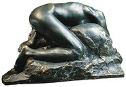 "Sculpture ""La Danaide"" (1889/90), bronze artedition"