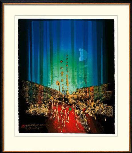 """Reinhard Brandner: Bild """"Mondlichtfänger"""" (2002), ungerahmt"""