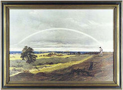 "Picture ""Landscape with Rainbow"" (1810)"