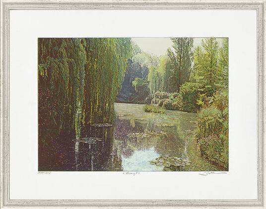 """Günther Hermann: Picture """"Giverny I"""""""