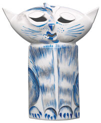 "Sculpture ""Cat"", Porcelain"