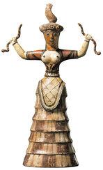 The Goddess of Snakes