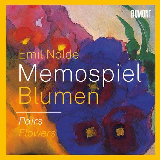 "Emil Nolde: Memospiel ""Blumen"""