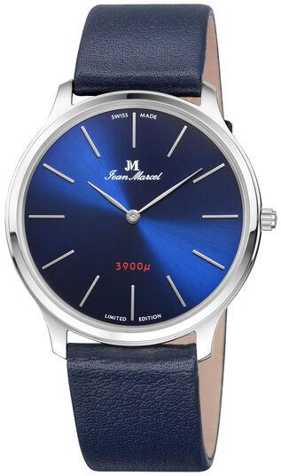 "Jean Marcel Herrenarmbanduhr ""Nano 3900"", dunkelblau"