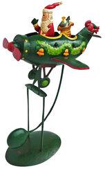 """Balancefigur """"Santa im Flugzeug"""", Eisen"""