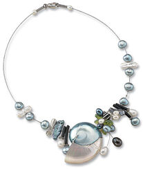 "Necklace ""Nautilus Shell"""
