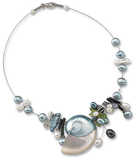 "Anna Mütz: Necklace ""Nautilus Shell"""