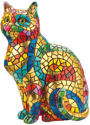 "Mosaikfigur ""Katze"""