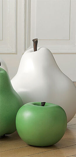 "Ceramic Object ""Green Apple"", (Small version)"