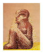 "Picture ""Seated figure with Veil"" (1979)"