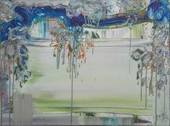 "Bild ""Discover grün"" (2013) (Unikat)"