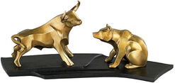 "Sculptures pair ""bull and bear"", bronze edition"