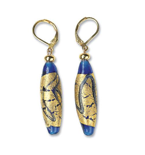 """Petra Waszak: Earrings """"Gold River"""""""