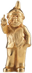 "Sculpture ""Sponti Dwarf"", Version Gilded"