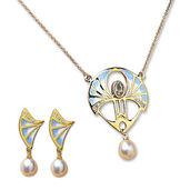 """Jewellery Set """"Art Deco"""""""