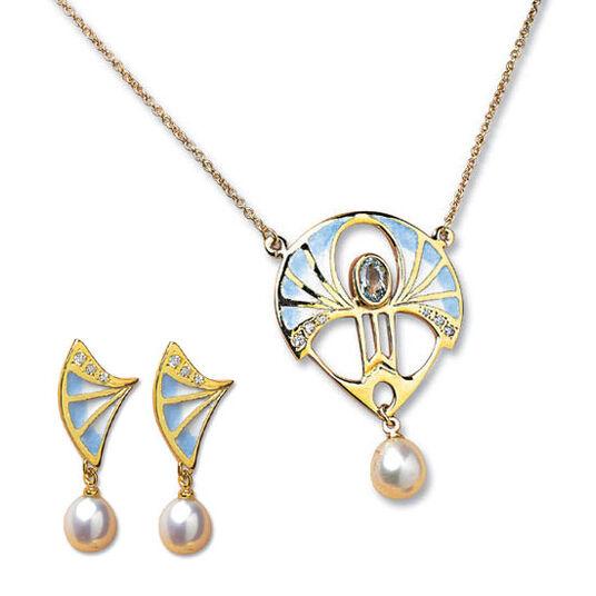 "Georg & Hans J. Müller: Jewellery Set ""Art Deco"""