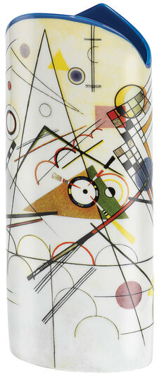 "Wassily Kandinsky: Porzellanvase ""Composition VIII"" (1923)"