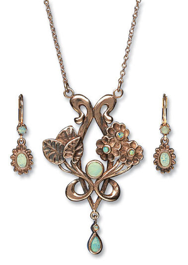 "Jewelry Set ""Flora"""