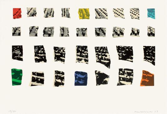 "John Baldessari: Bild ""Two Assemblages (Transparent)"", 2003"