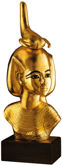 Bust of Selket, goddess of healing stings and bite