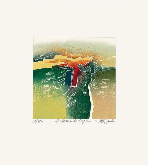 """Francis Méan: Bild """"Weg der Hoffnung"""" (2011), ungerahmt"""