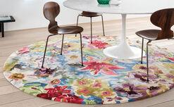 """Teppich """"Magic Flower"""" (rund, Durchmesser 230 cm)"""