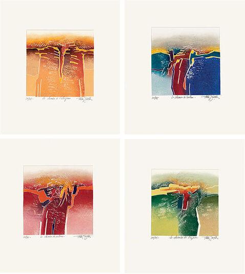 Francis Méan: 4 Bilder im Set