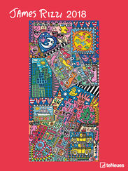 James Rizzi: Art Calendar 2018