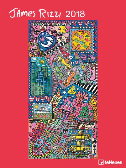 James Rizzi: Künstlerkalender 2018