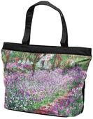 """Tasche """"Irisbeet in Monets Garten"""""""