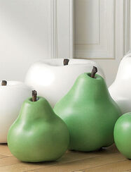 "Ceramic Object ""Pears green"", (medium version)"