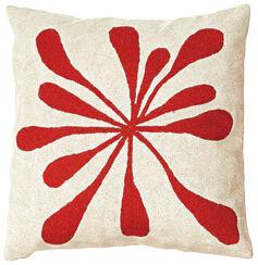 "Cushion Cover ""Red Splash"""