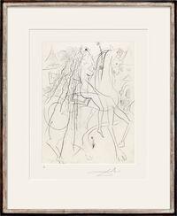 """Painting """"Lady Godiva"""" (1969)"""