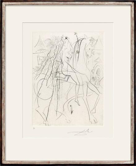 """Salvador Dalí: Bild """"Lady Godiva"""" (1969)"""