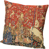 "Cushion cover ""The Lady and the Unicorn"", theme 2"
