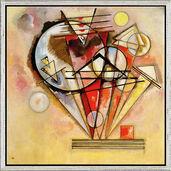 """Bild """"Auf Spitzen"""" (1928), gerahmt"""