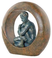 "Sculpture ""Saturn"", art casting"