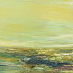 """Bild """"Wasser und Wolken VII"""" (2015) (Unikat)"""