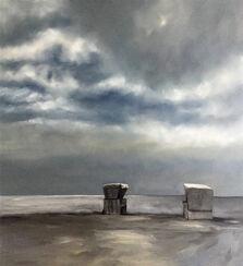 "Bild ""Strandkörbe # 1"" (2017) (Unikat)"