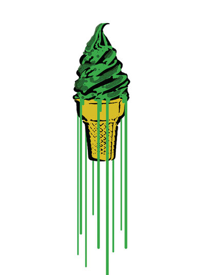 "Eliot: Bild ""Green Glitter Icecream"" (2015)"