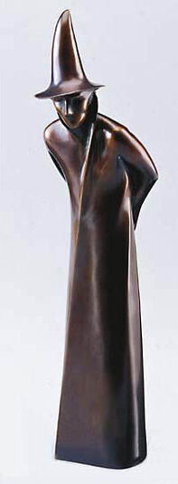 "Julius Thomas Tamar: ""Magician"", art bronze edition."