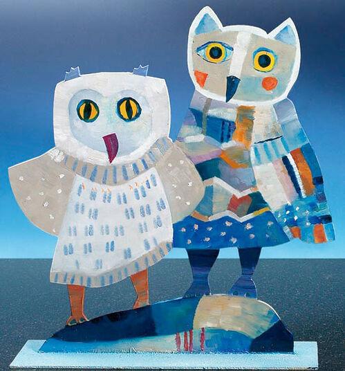 Jutta Votteler: 'The Owl Couple'